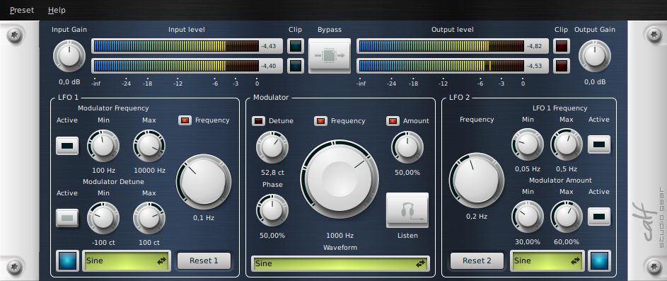 Calf Studio Gear - GNU/Linux Audio Plug-Ins